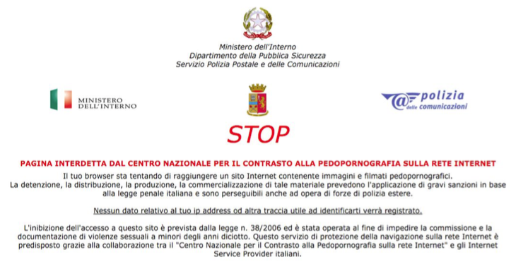 CNCPO Stop page