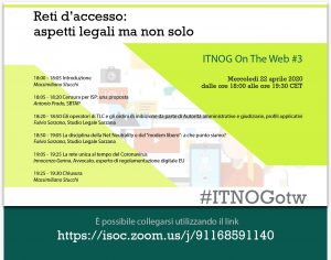 ITNOG on the web #3 @ Zoom